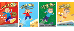 Zapato Power chapter book series by Jacqueline Jules