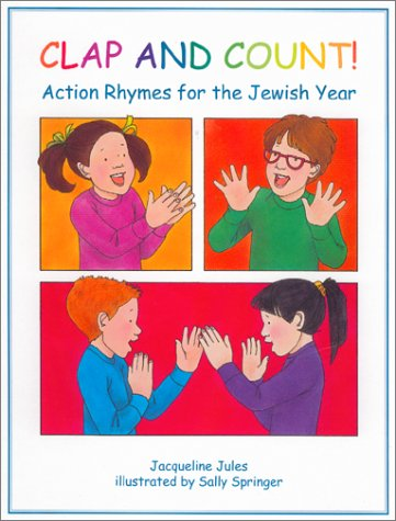 Clap and Count: Action Rhymes for the Jewish Year
